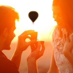 Formule vol en montgolfière privatisé, VIP, demande en mariage
